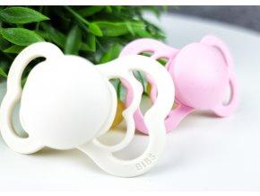Bibs Supreme ,,ivory-baby-pink,, 2ks