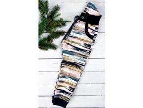 Softshell kalhoty ,,Bars,, s fleecem