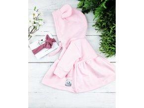 MIKINOŠATY PRINCESS Baby Pink
