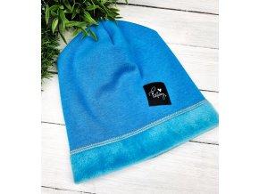 Zateplená čepice ,,Blue,,