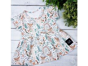 Princess šaty ,,FLOXY,, vel.68 sklad š