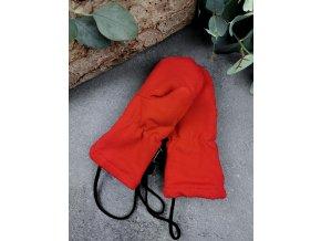 Zateplené rukavice s palcem ,,RED,, vel.3 sklad š