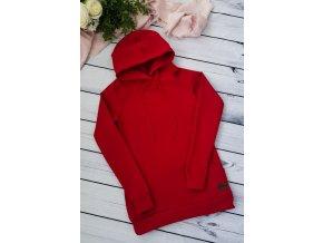 Mikina s kapucí dámská ,,RED,,