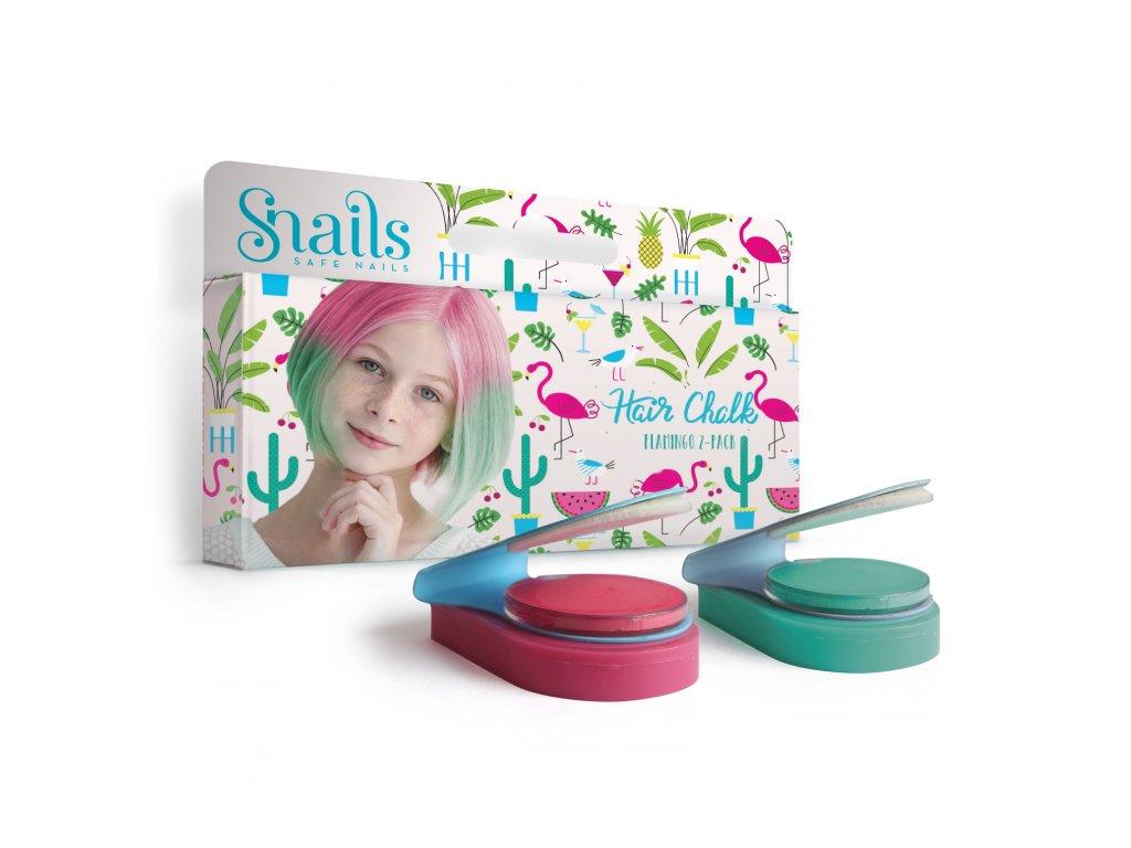 Hair Chalk 2Pack Flamingo