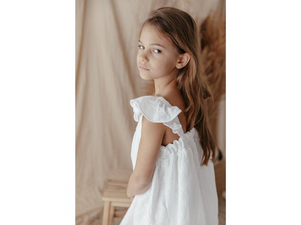 sukienka butterly white