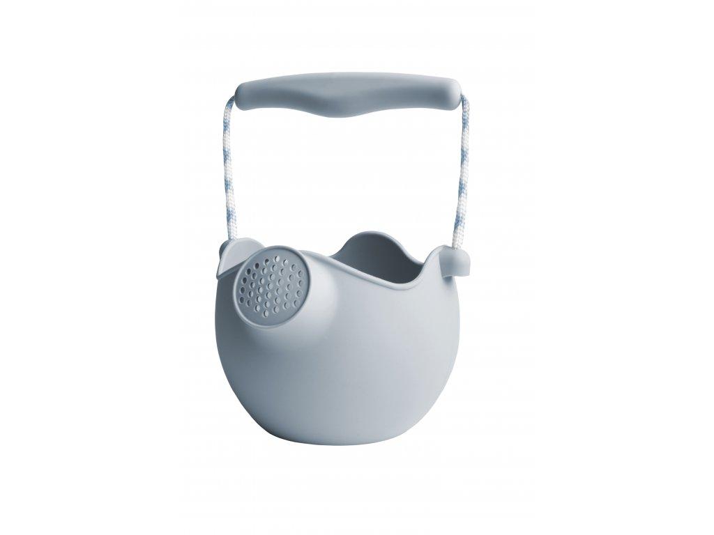 Silikonový kbelík/konvička - světle modrá barva