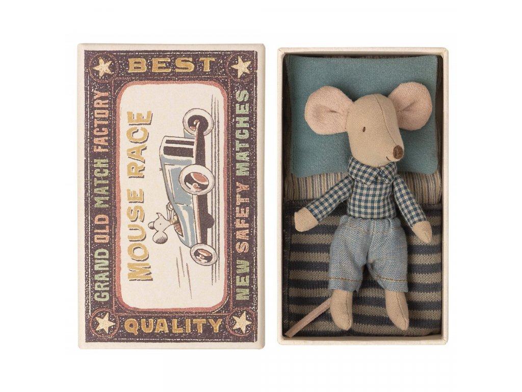 97462 1 maileg mysi kluk v krabicce v kosili maly braska