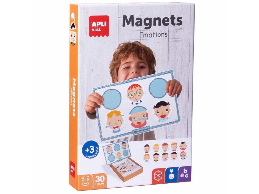 Apli Edukační hra s magnety - Emoce
