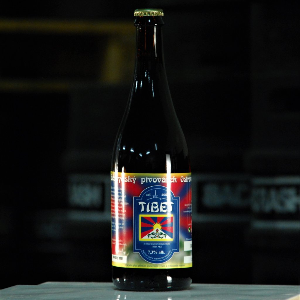 Beskydy Tibet Red ALE 14° 0,75l