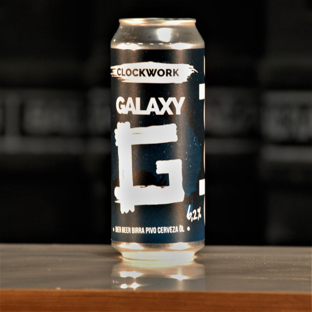Clock Clockwork Galaxy 15° CAN 0,5l