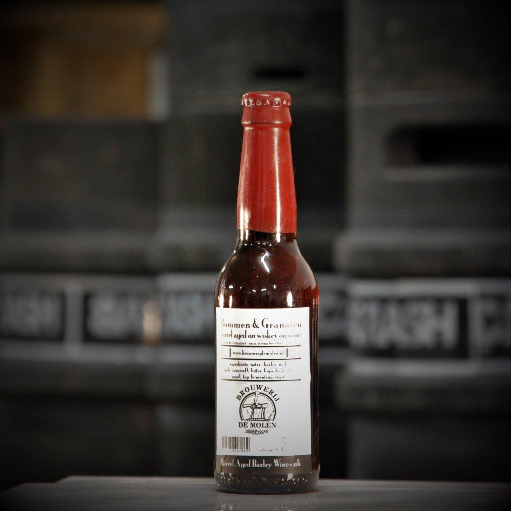 De Molen Bommen & Granaten Barrel Aged (Whiskey on Wine) 0,33l