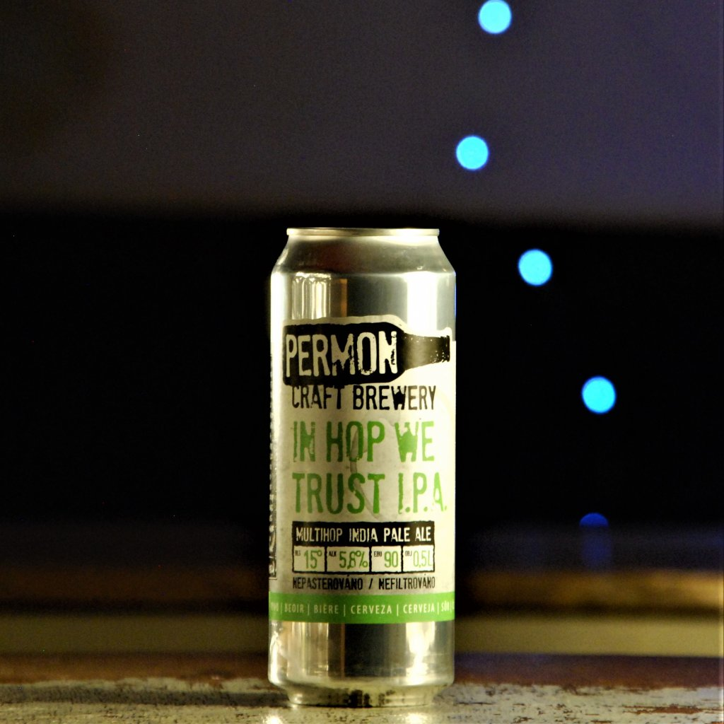Permon In Hop We Trust 15° CAN 0,5l