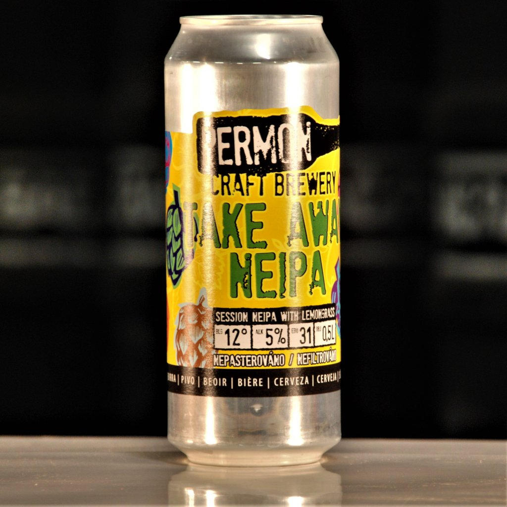 Permon Take Away Lemongrass NEIPA 12° CAN 0,5l