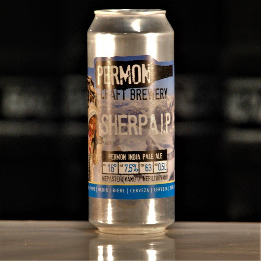Permon Sherpa IPA CAN 16° 0,5l