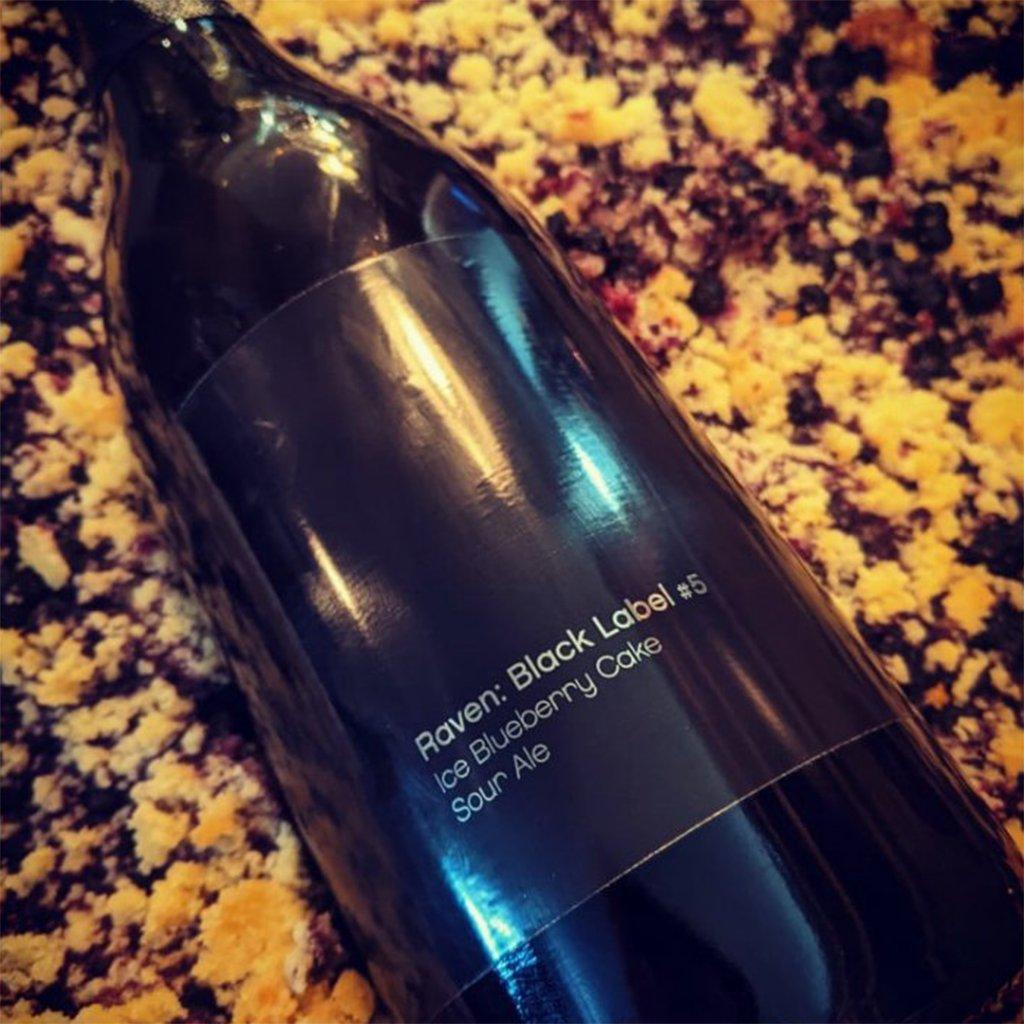 Raven Black Label #5: Ice Blueberry Cake Sour Ale 24° 0,75l