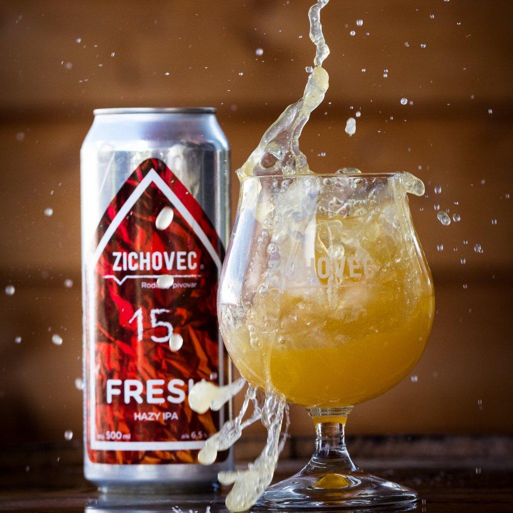 Zichovec Fresh 15° CAN 0,5l