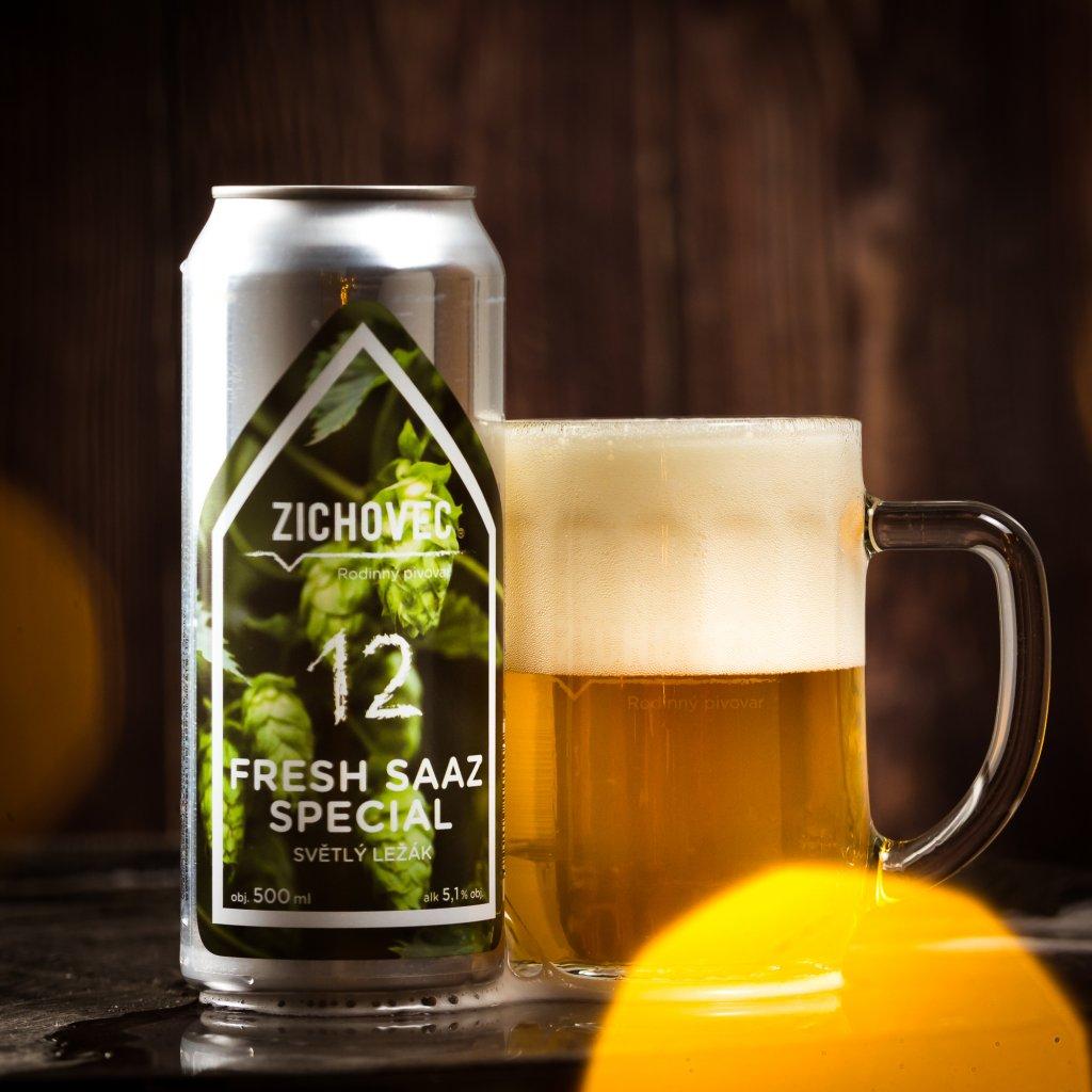 Zichovec Fresh Saaz Special 12° CAN 0,5l