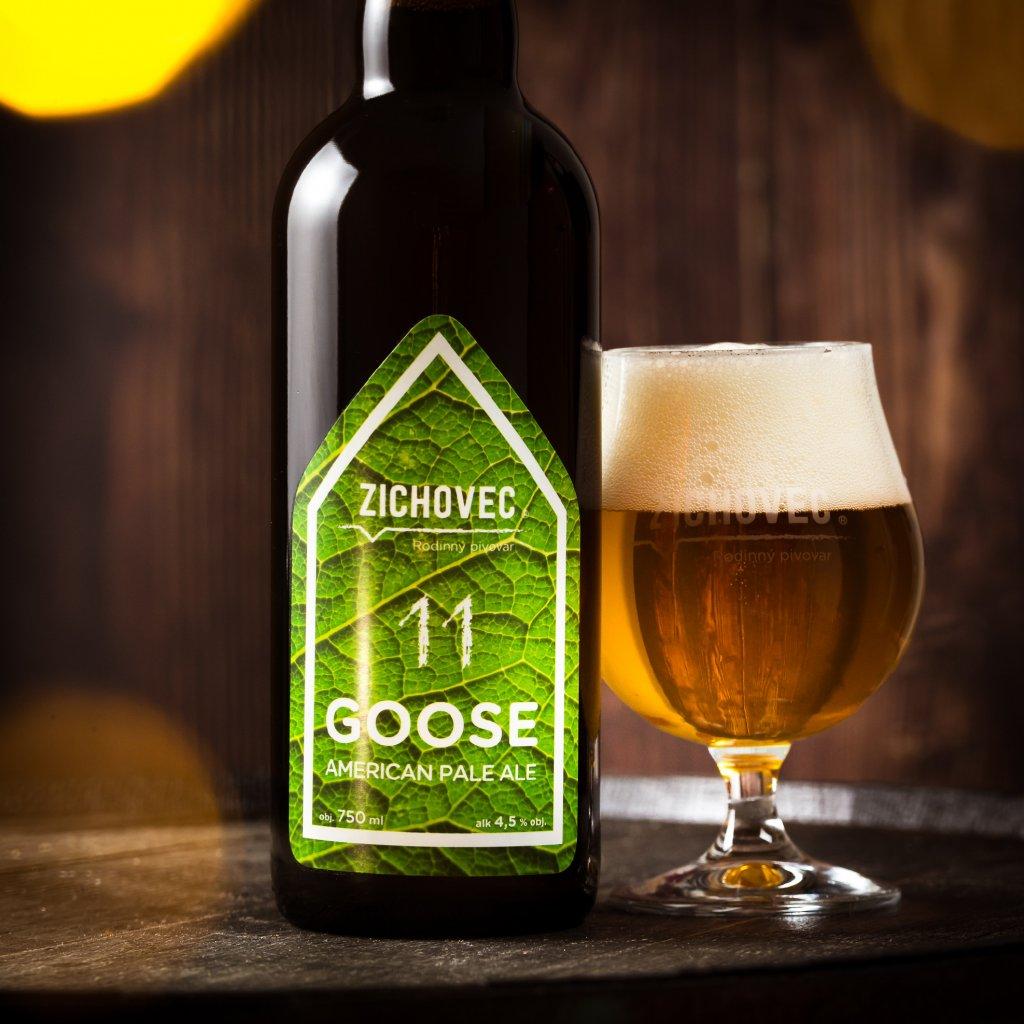 Zichovec Goose Ale 11° 0,75l