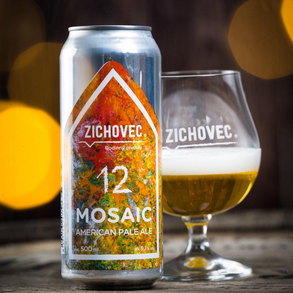 Zichovec Mosaic Ale 12° CAN 0,5l