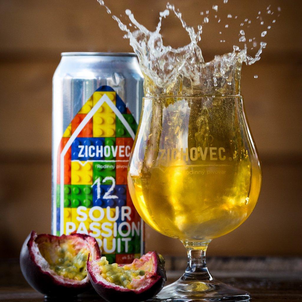 Zichovec Passion Fruit Sour Ale 12° CAN 0,5l