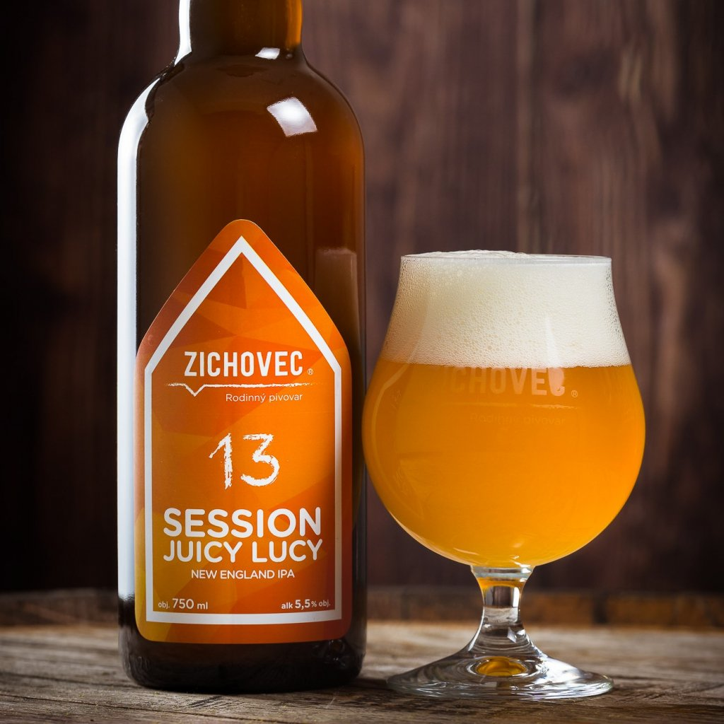 Zichovec Session Juicy Lucy NEIPA 13° 0,75l