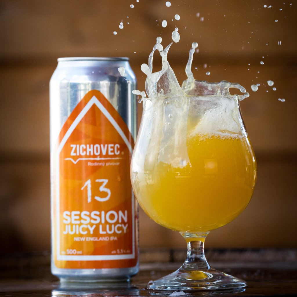 Zichovec Session Juicy Lucy NEIPA 13° CAN 0,5l
