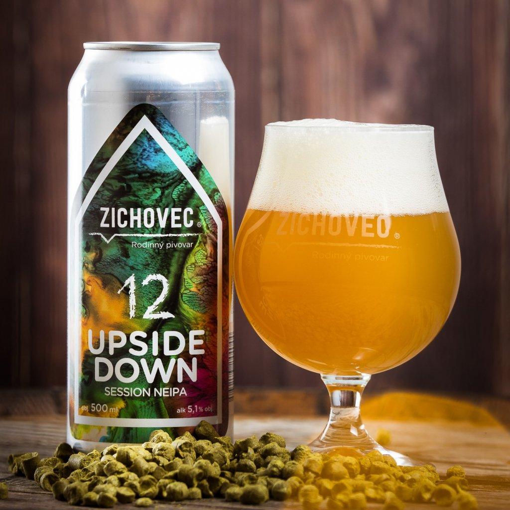 Zichovec Upside Down 12° CAN 0,5l
