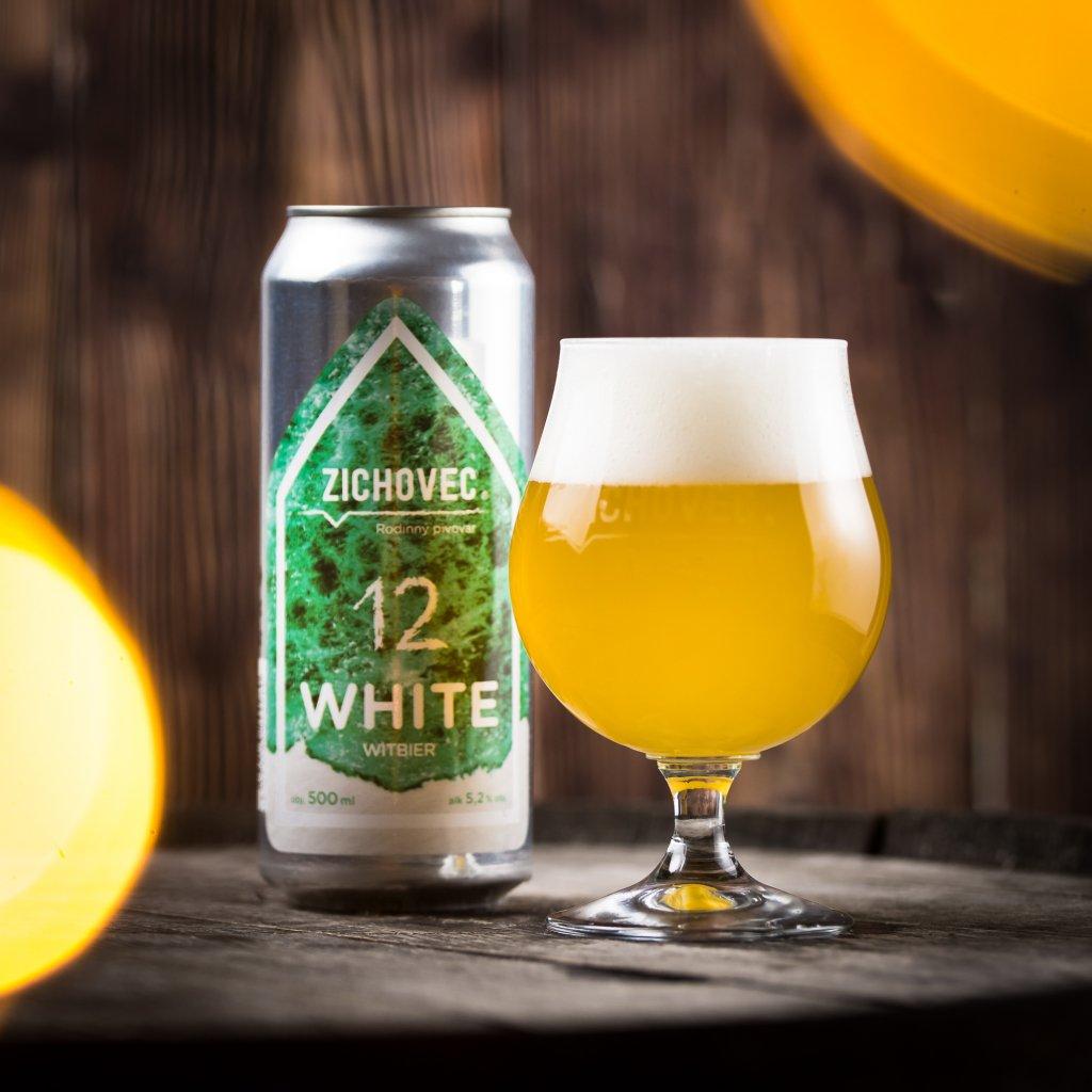 Zichovec White 12° CAN 0,5l