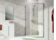 Oblé sprchové kúty