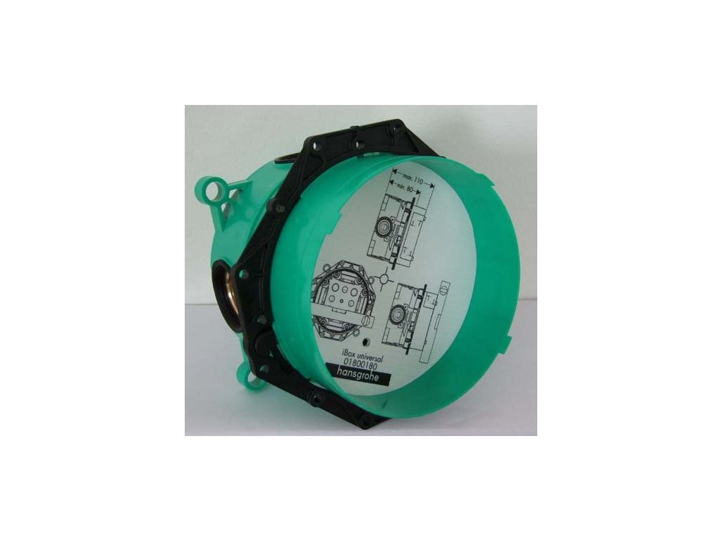 Hansgrohe Ibox 01800180 - univerzálne podomietkové teleso pre Hansgrohe batérie kupelnashop.sk