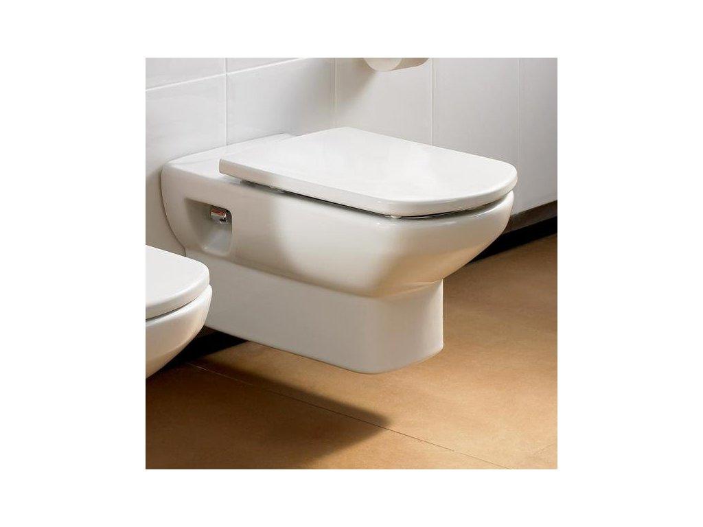 Roca Dama Senso - zavesné WC, hlboké splachovanie 555 x 355 mm 7346517000