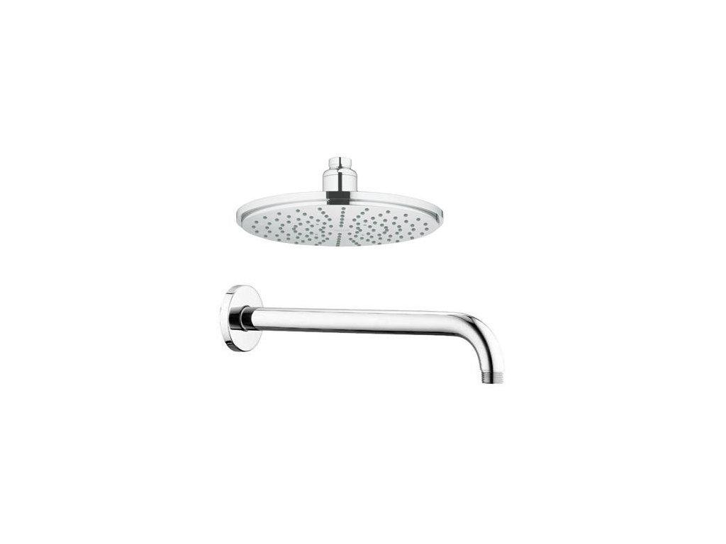 Grohe Rainshower - hlavová sprcha Modern 210 mm s pripojením 28368 + 28576