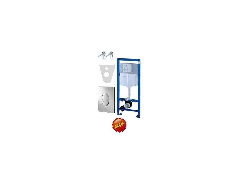 Grohe Rapid SL - pre závesné WC 38528SET