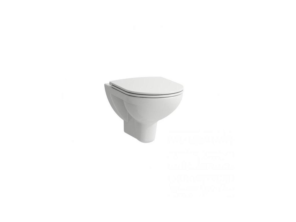 Laufen Pro - set 866951 závesná WC misa + spomaľovacie SLIM sedadlo + montážna páska