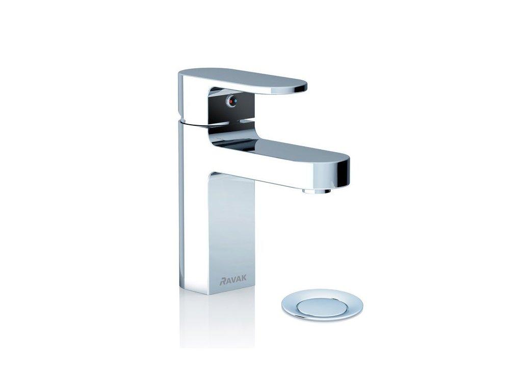 Ravak Chrome - umývadlová vodovodná batéria s odtokovou garnitúrou CR 011.00