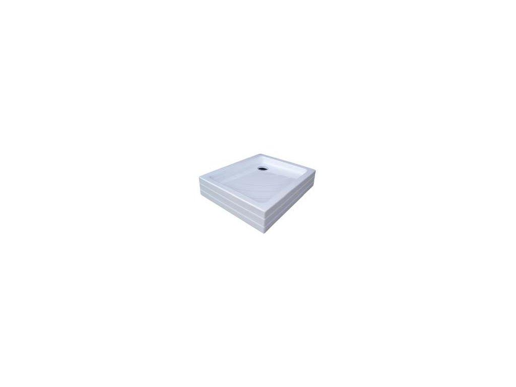 Ravak Aneta - PU 75x90 cm rohová akrylátová vanička