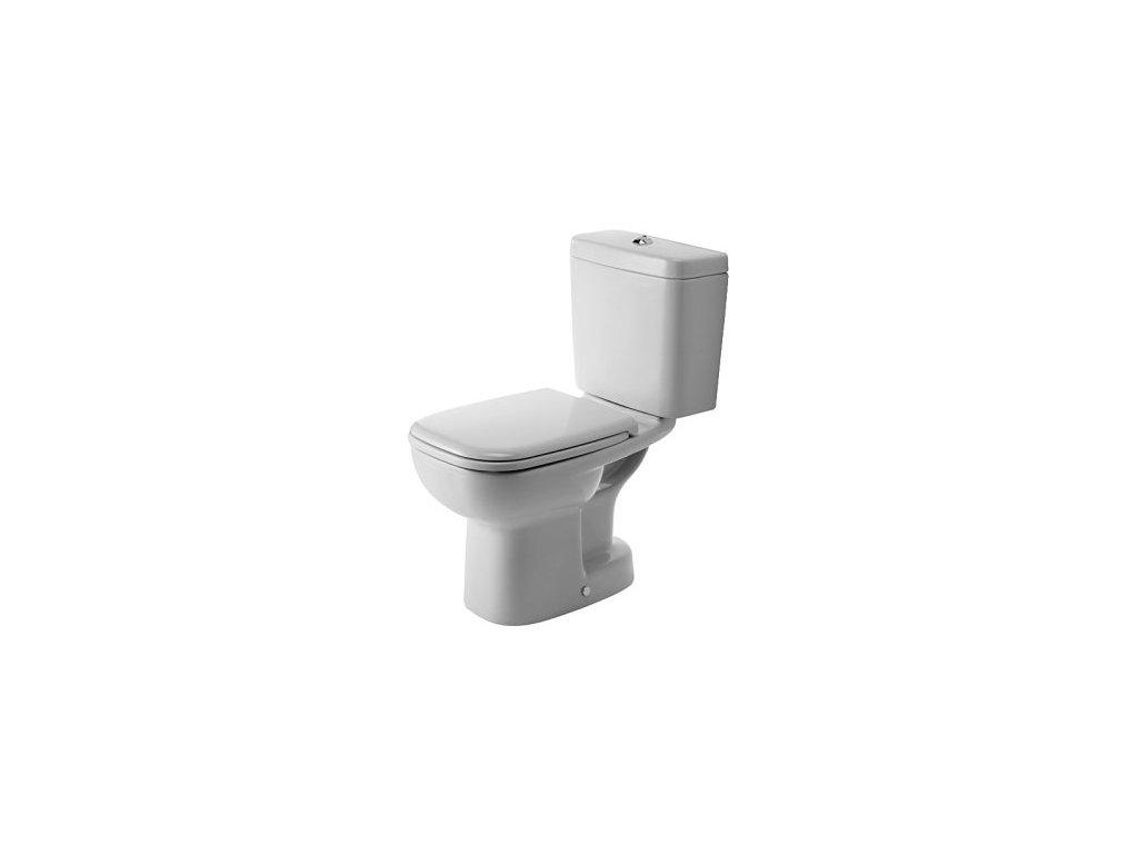 Duravit D-Code stojace WC 355x650 mm bez WC nádržky 21110100 kupelnashop.sk