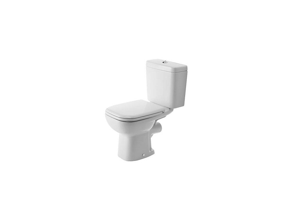 Duravit D-Code stojace WC 355x650 mm bez nádržky, 21110900 kupelnashop.sk