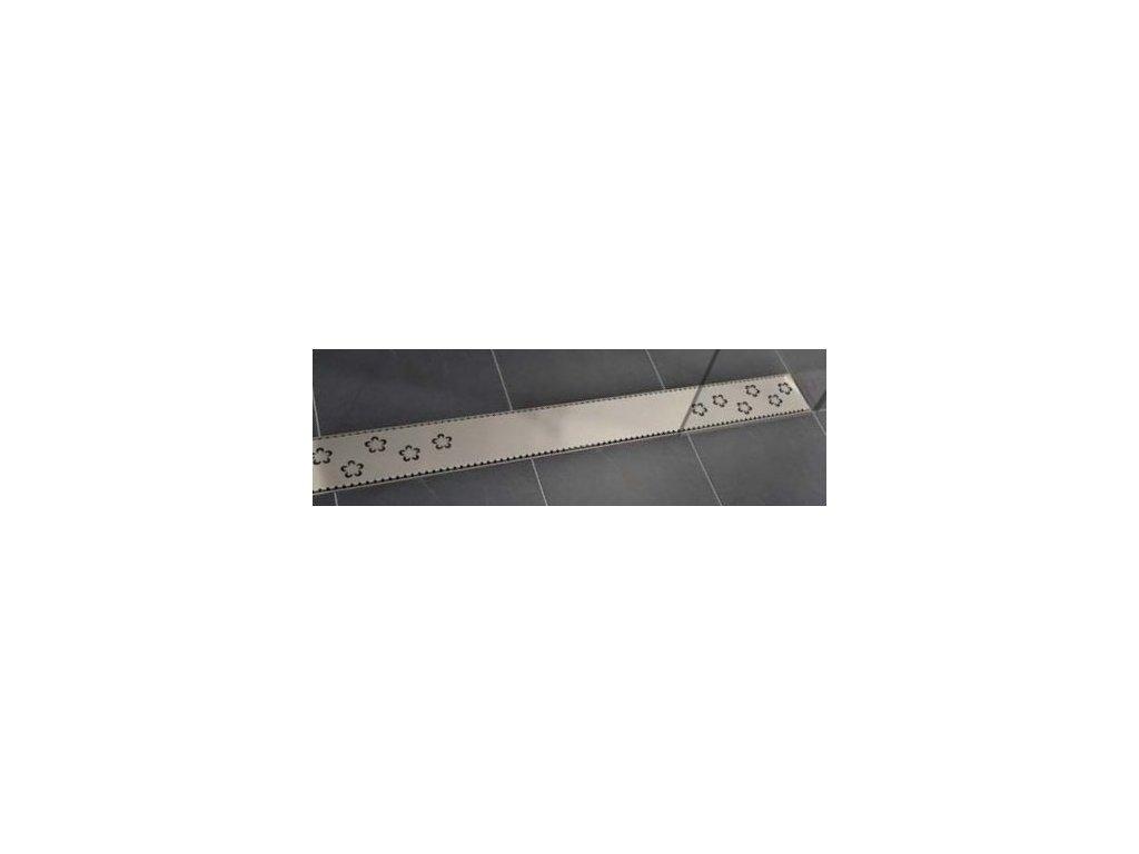 Viva Classic - 60 cm nerezová sprchová mriežka pre žľaby Classic a Lift (V0480 cm)