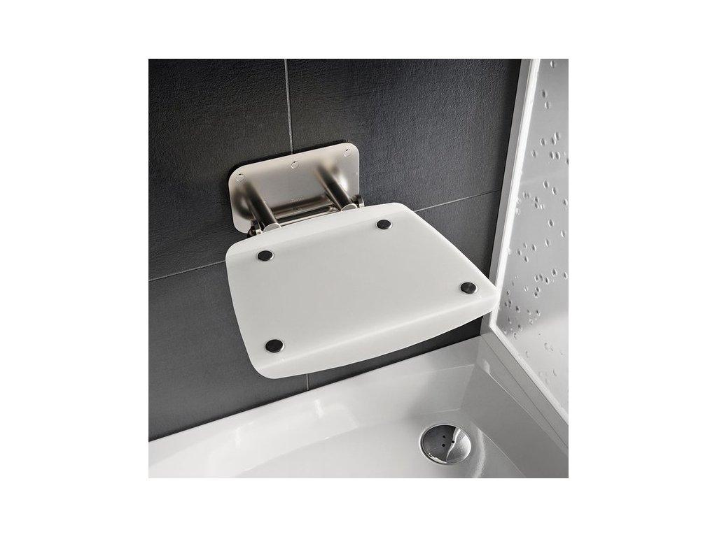 Ravak Ovo - opal - sprchové sedadlo