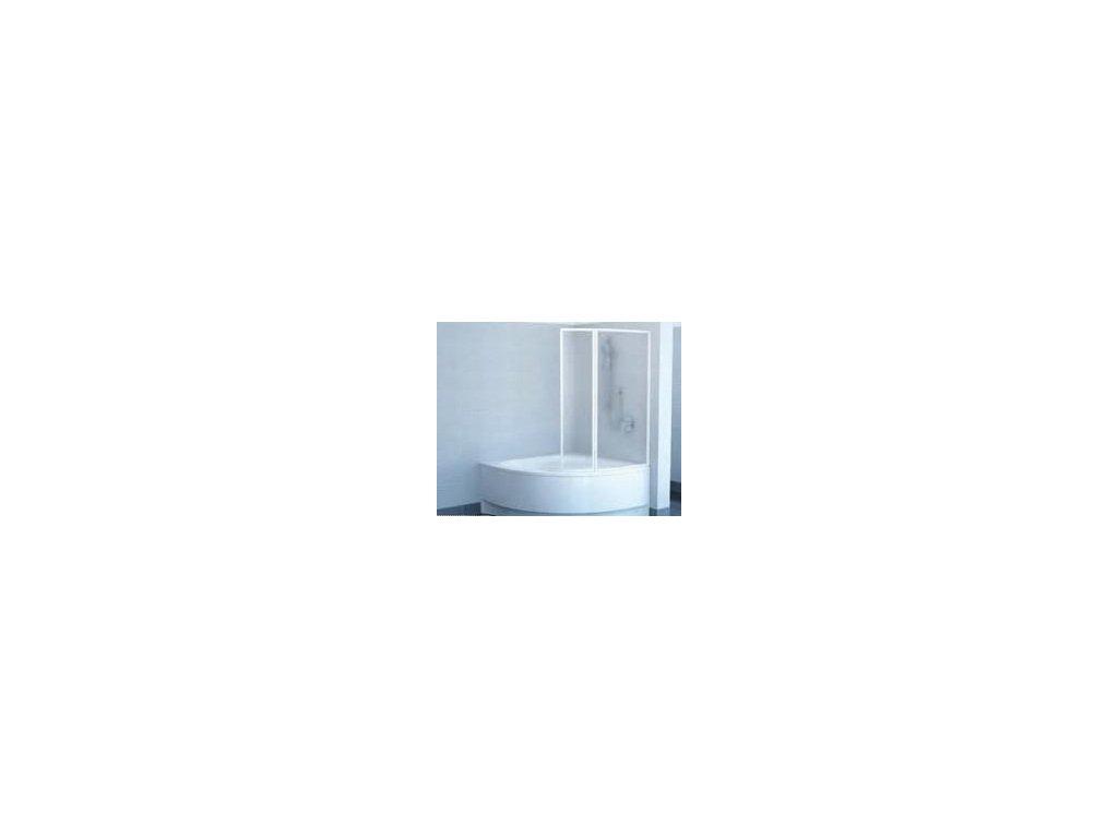 Ravak Rosa - VSK 2 - L/P 170 vaňová zástena transparentné sklo