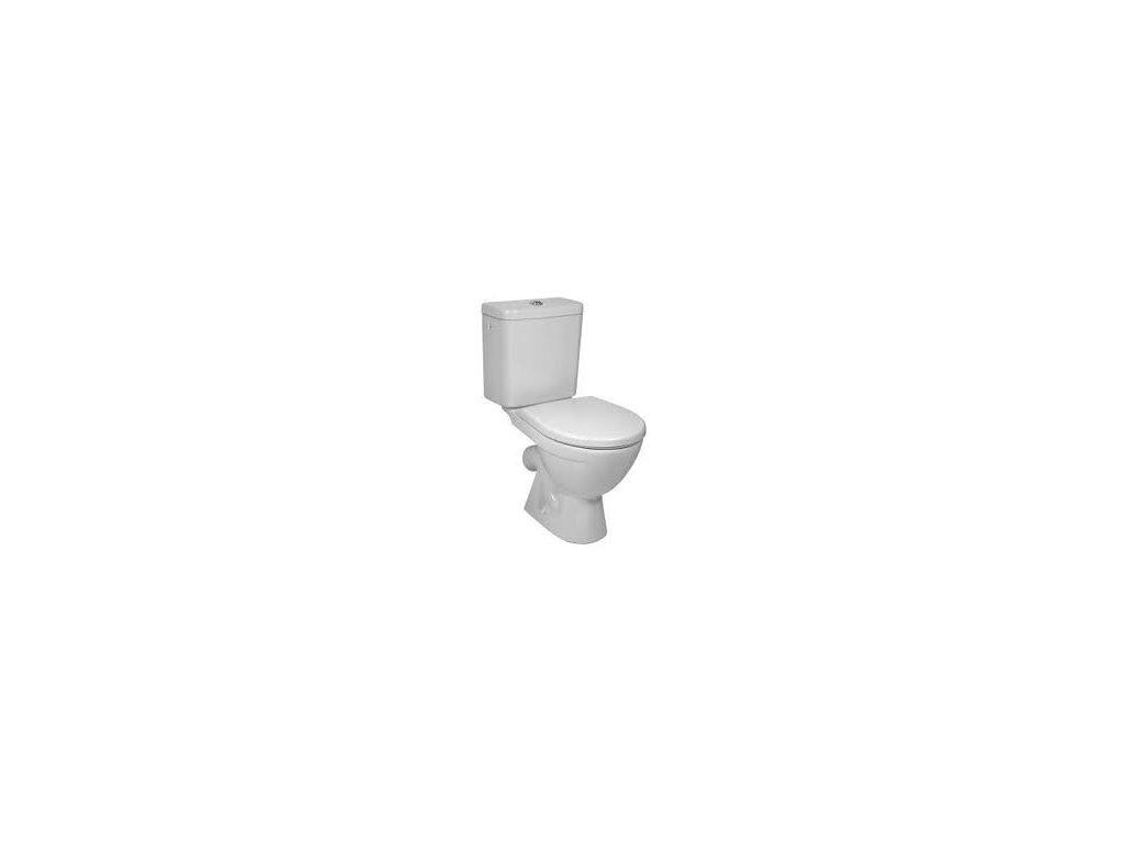Jika Lyra Plus stojace wc + nádržka šikmý odpad napúšťanie z boku kupelnashop.sk