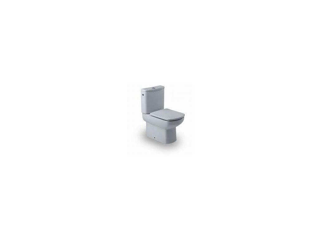 Roca Dama Senso - stojace WC 355 x 660 mm, hlboké splachovanie 7342517000
