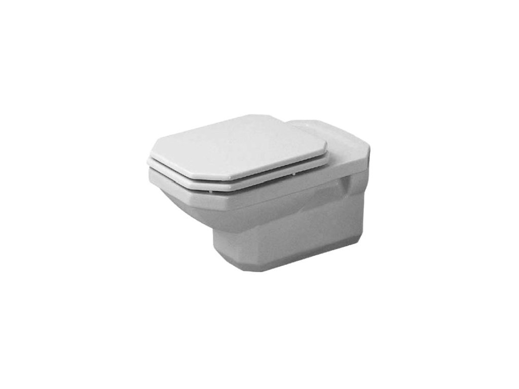 Duravit séria 1930 - závesné WC, hlboké splachovanie, 355x580 mm 01820900 kupelnashop.sk