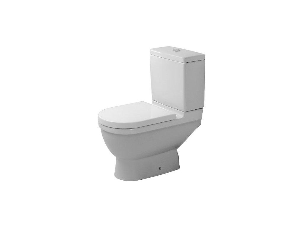 Duravit Starck 3 stojace WC 360x655 mm, hlboké splachovanie 01260900 kupelnashop.sk