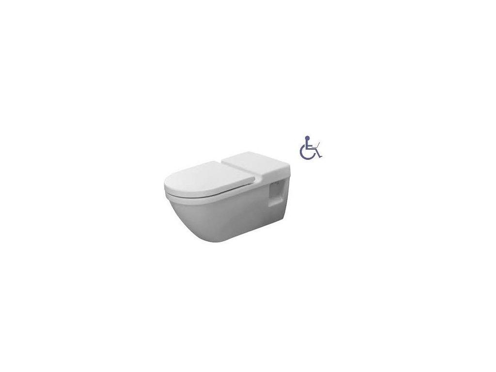 Duravit Vital Starck 3 - závesné WC bezbariérové kupelnashop.sk