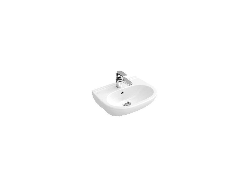 Villeroy & Boch O.Novo - umývadlo 60 x 49 cm s otvorom pre batériu 51606001