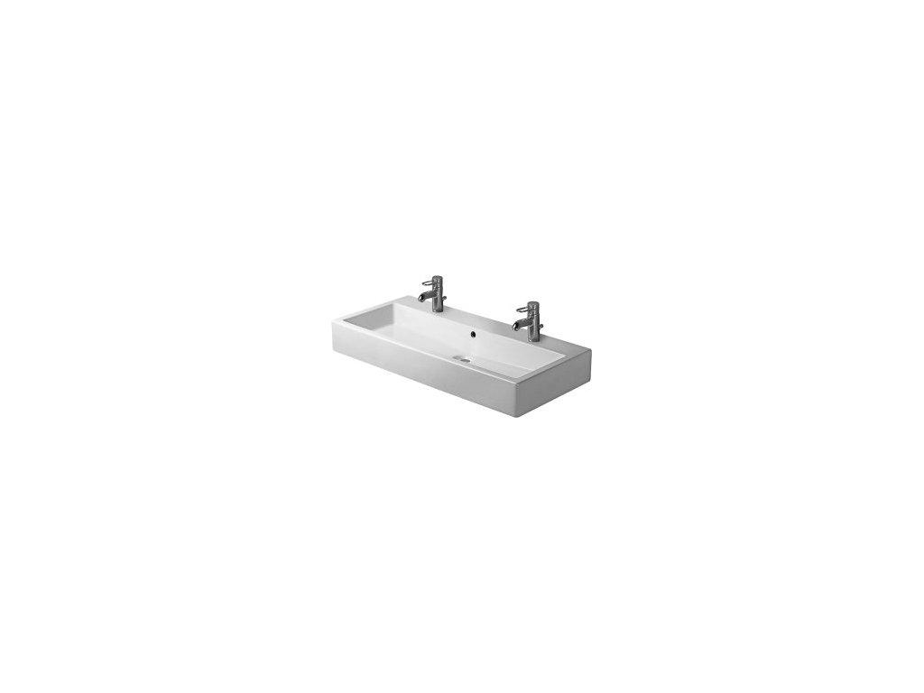Duravit Vero - umývadlo 100 x 47 cm 045410 pre dve batérie