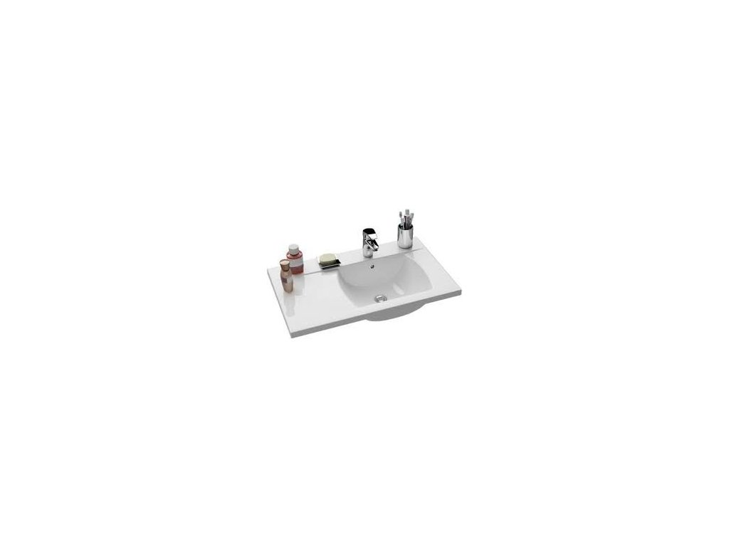 Ravak Classic - 800 - umývadlo 80 x 49 cm L/P