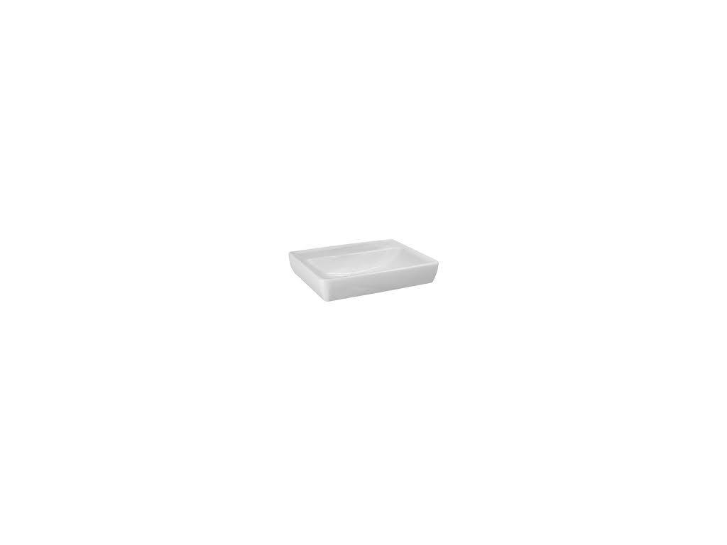 Laufen Pro A - umývadlo 55x48cm bez otvoru pre batériu, brúsená spodná časť umývadla, 8.1795.1.109.1